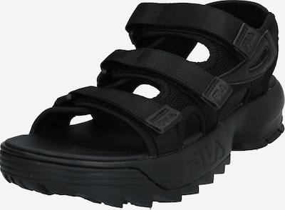 Sportinio tipo sandalai iš FILA , spalva - juoda, Prekių apžvalga