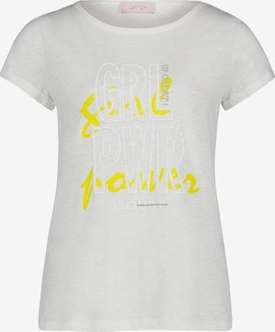 Cartoon Shirt in weiß, Produktansicht