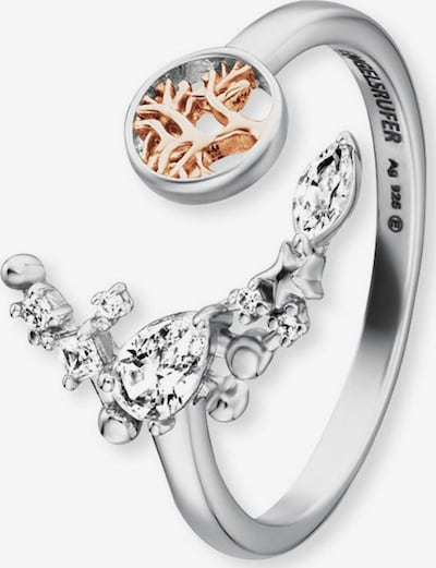 Engelsrufer Ring in rosegold / silber, Produktansicht