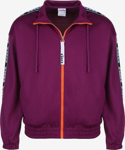 Diadora Trainingsjacke 'TROFEO' in lila, Produktansicht