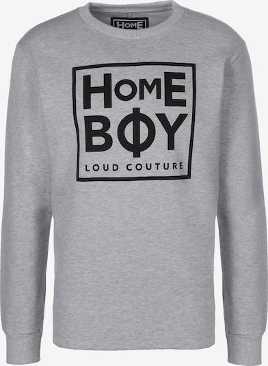 HOMEBOY Sweater ' Def Crew-Neck ' in grau / schwarz, Produktansicht