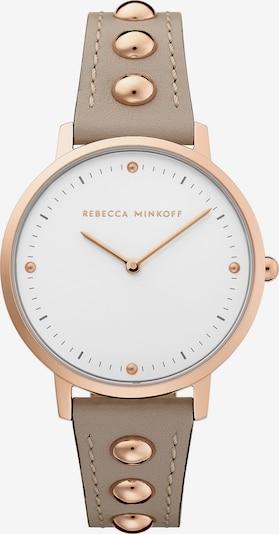 Rebecca Minkoff Damenuhr 'Major 2200322' in taupe / weiß, Produktansicht