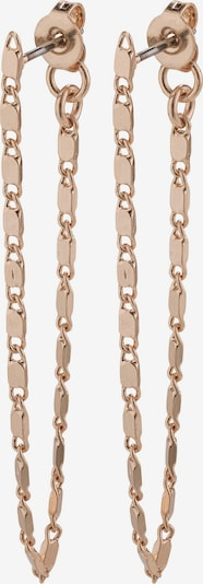 rózsaszín arany Pilgrim Fülbevalók 'Intuition': Elölnézet