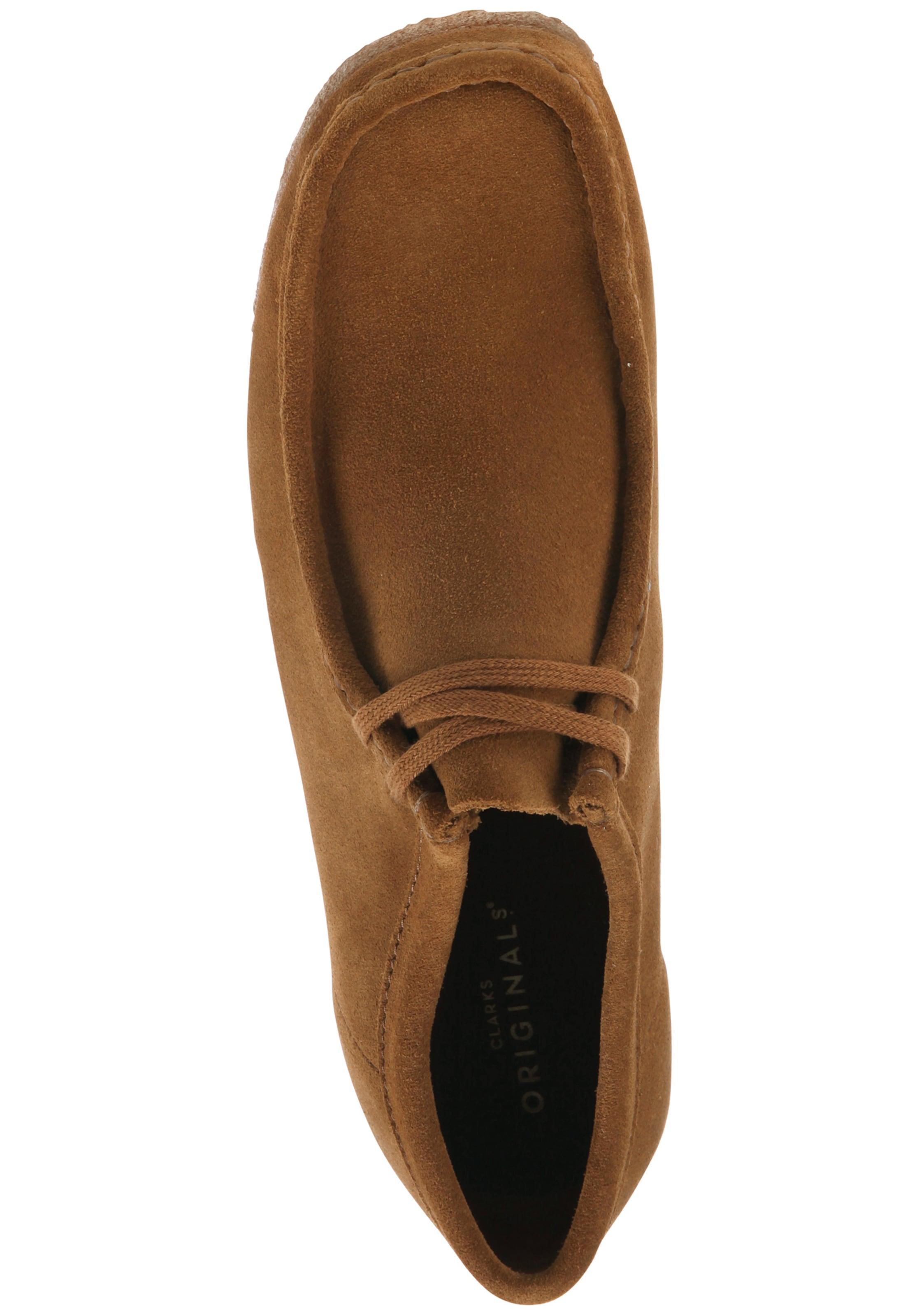 In Schuhe 'wallabee' Cognac Clarks Originals jpGSzMqULV