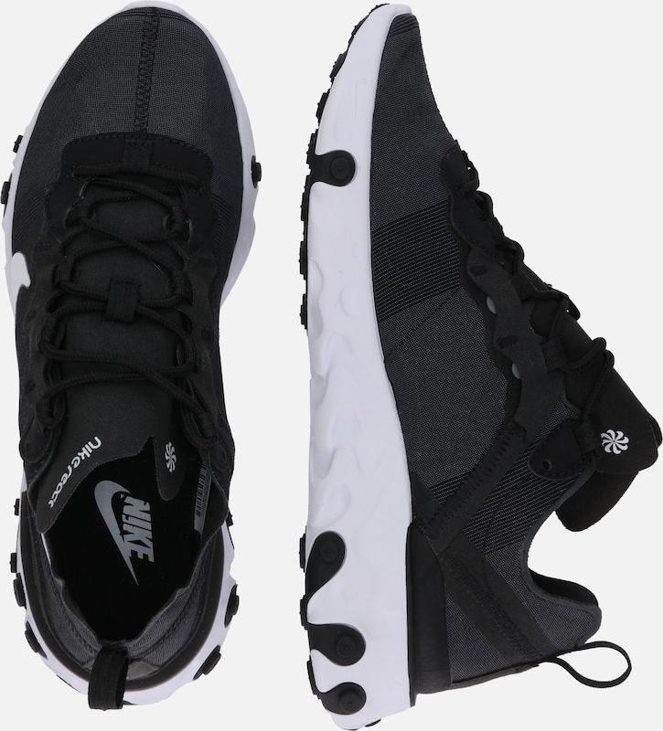En Nike Element Sportswear 'react Baskets NoirBlanc Basses 55' wOXPnk80