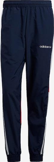 ADIDAS ORIGINALS Pantalon 'Festivo' en bleu foncé / rouge / blanc: Vue de face