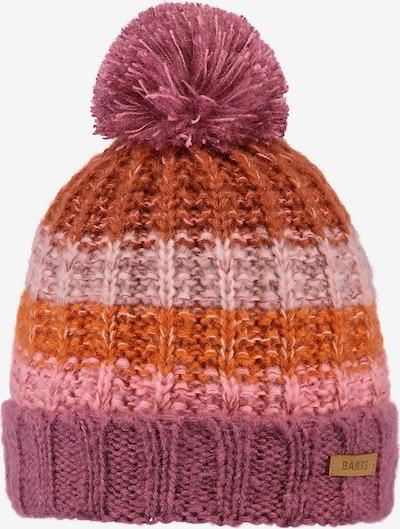 Barts Mütze in braun / orange / pink, Produktansicht