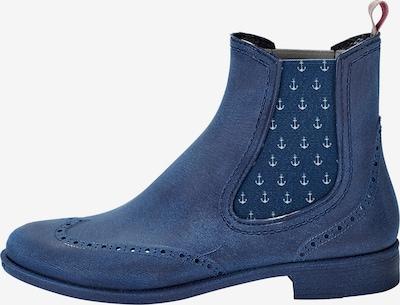 Crickit Chelsea Boot 'LILI' mit Ankern in blau, Produktansicht