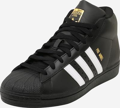 ADIDAS ORIGINALS Sneaker in gold / schwarz / weiß, Produktansicht