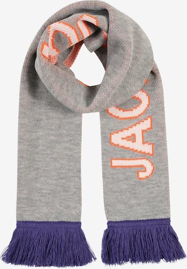 JACK & JONES Sjaal 'MAC' in de kleur Blauw / Grijs, Productweergave