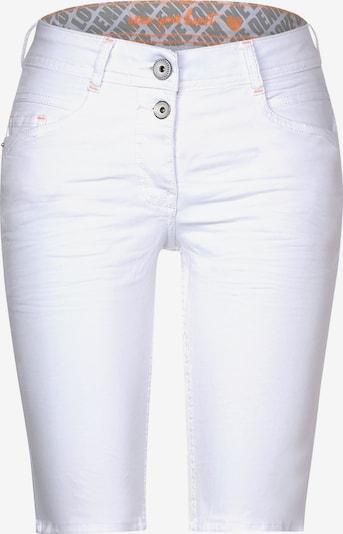 CECIL Weiße Loose Fit Shorts in weiß, Produktansicht