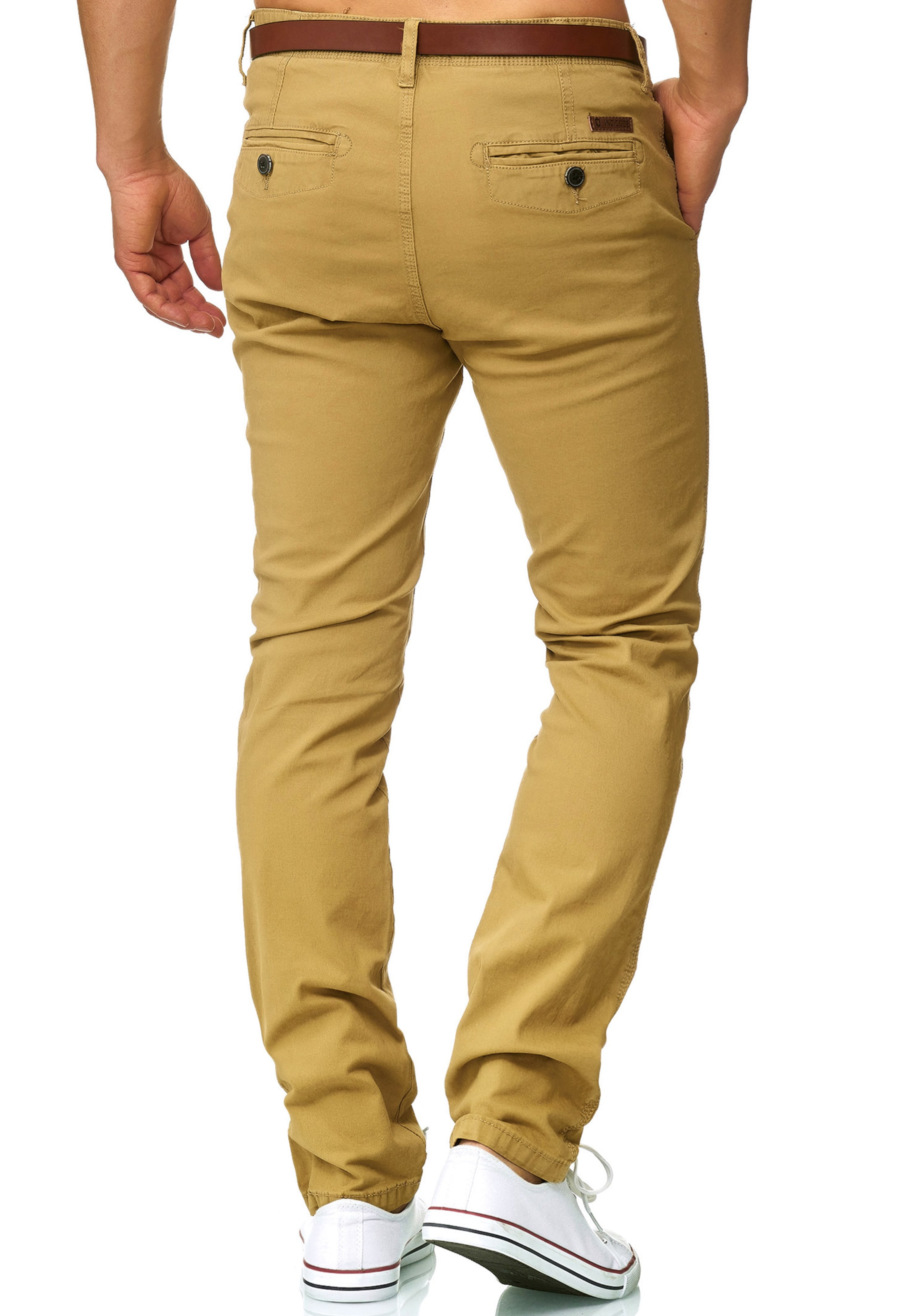 Indicode 'cherry' In Goldgelb Chino Jeans rCQthdxs