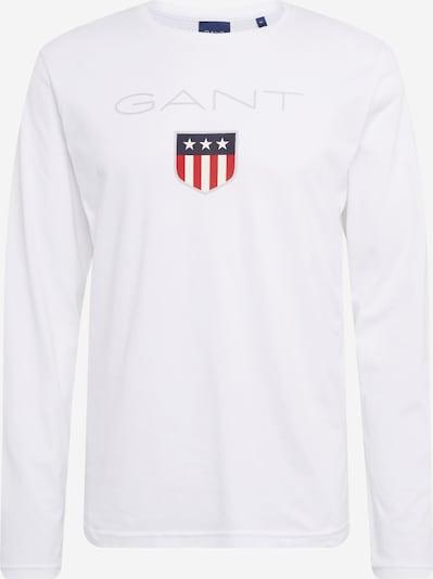 Tricou 'SHIELD' GANT pe alb, Vizualizare produs