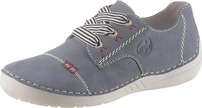 RIEKER Sneaker in blue denim, Produktansicht