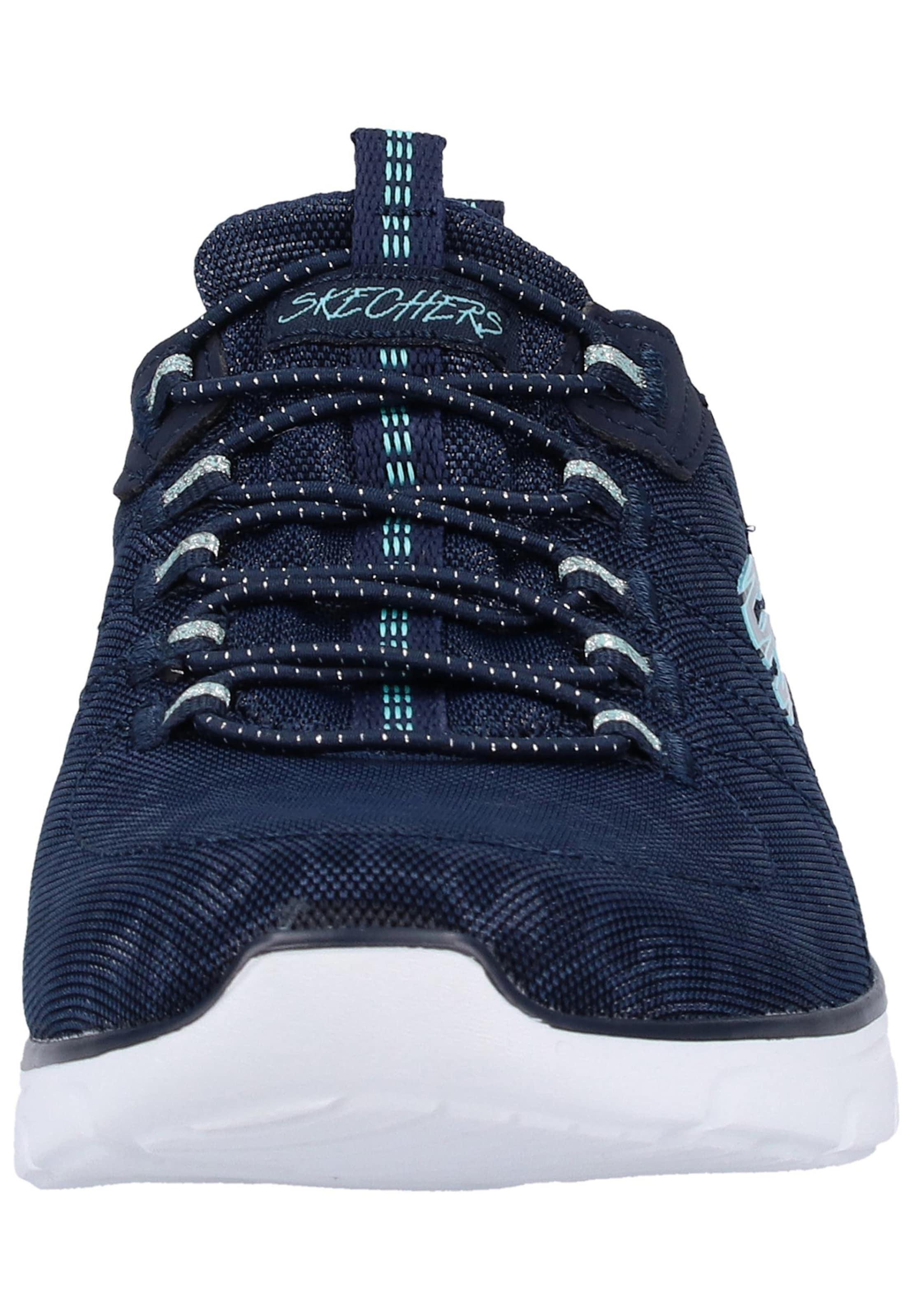 Skechers Baskets D'lux' MarineAqua Basses Bleu 'empire En xrdCBoe
