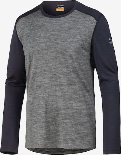 Icebreaker Funktionsshirt 'Oasis' in anthrazit / graumeliert, Produktansicht