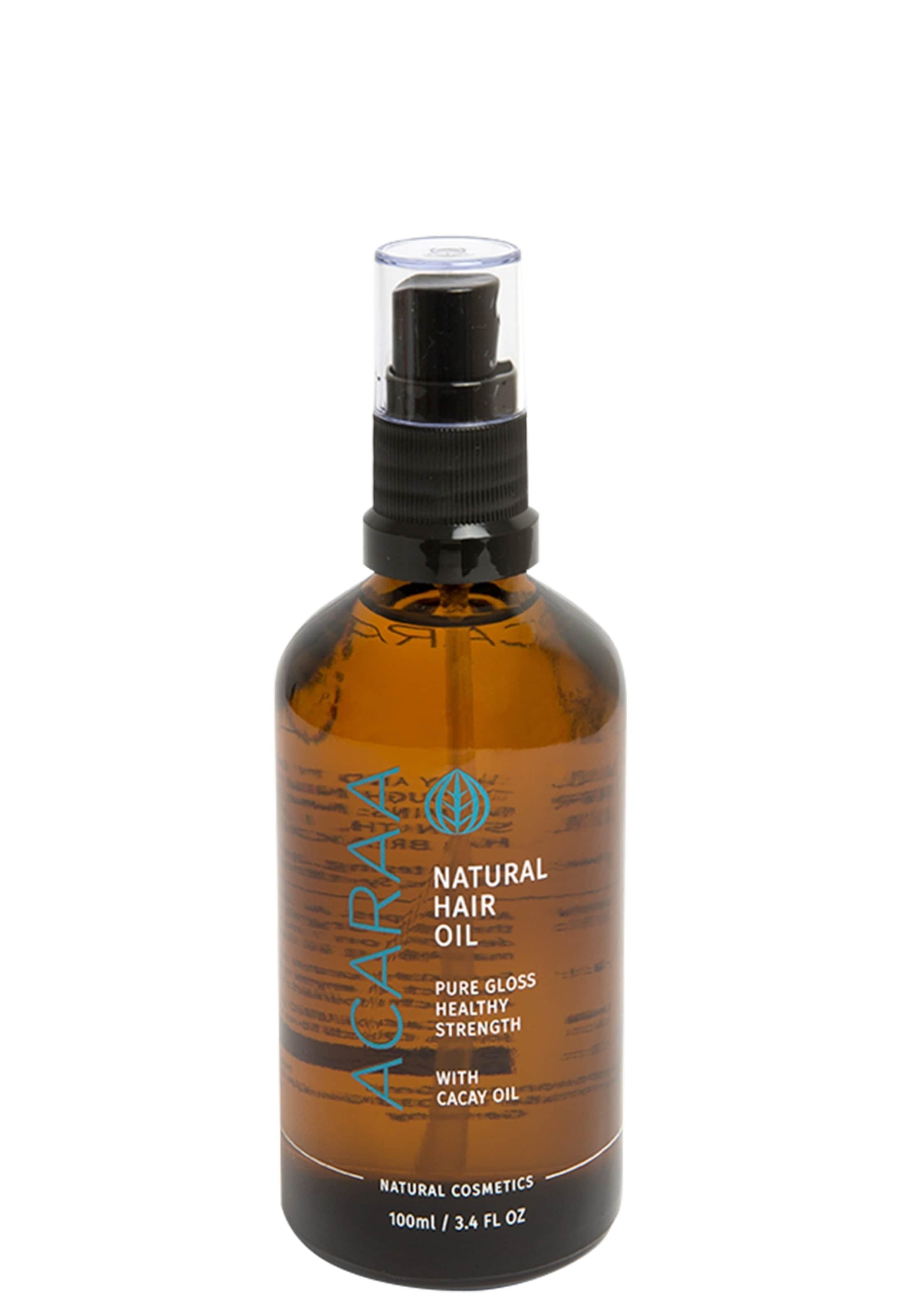 In Braun Natural Haaröl Hair Naturkosmetik Oil Acaraa 100ml qUSVpMzGL