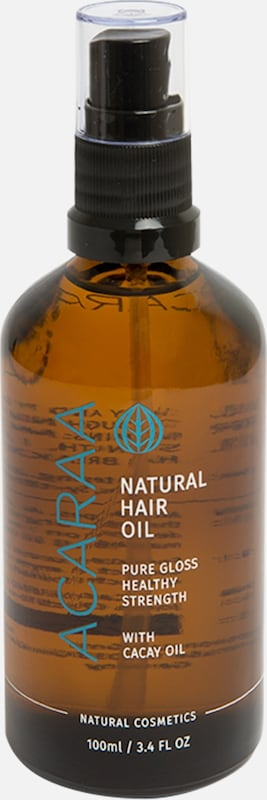 ACARAA Naturkosmetik Haaröl Natural Hair Oil 100ml in braun, Produktansicht