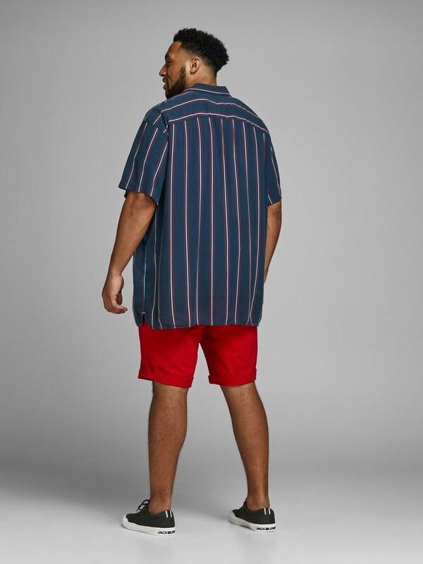 Jones Jackamp; Overhemd Rood In TurquoiseNachtblauw lcK1FJ