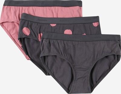 SCHIESSER Spodnjice | temno siva / roza barva, Prikaz izdelka
