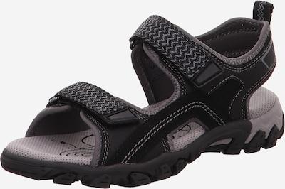 Pantofi deschiși 'HIKE' SUPERFIT pe negru, Vizualizare produs