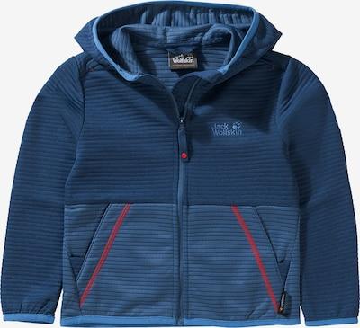 JACK WOLFSKIN Strickjacke 'TONGARI' in blau, Produktansicht