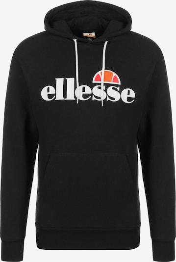 ELLESSE Sweatshirt 'Picton' in orange / rot / schwarz / weiß, Produktansicht