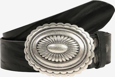 RETTUNGSRING by showroom 019° Gürtel in schwarz / silber: Frontalansicht