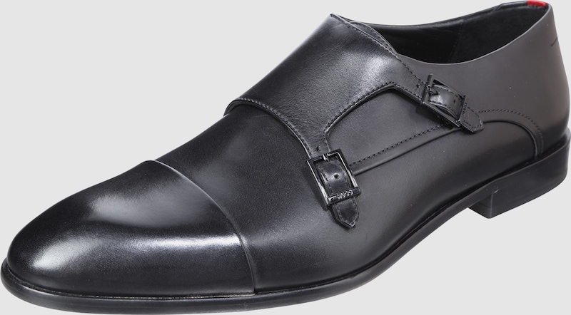 HUGO Monkstrap in edler Leder-Qualität