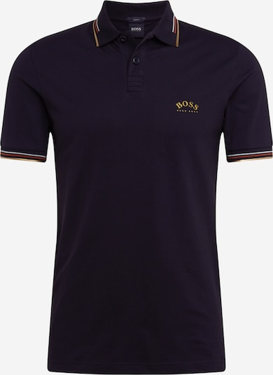 BOSS ATHLEISURE Shirt 'Paul Curved' in de kleur Grijs, Productweergave