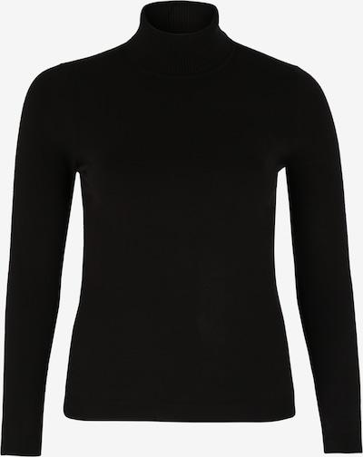 Vero Moda Curve Rollkragenpullover in schwarz, Produktansicht