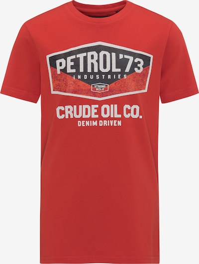 Petrol Industries T-Shirt in rot: Frontalansicht