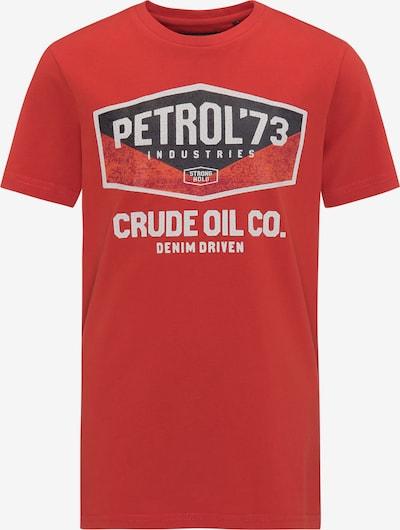 Petrol Industries T-Shirt in rot, Produktansicht