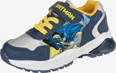 Batman Batman Sneakers Low Blinkies in blau / gelb / grau, Produktansicht