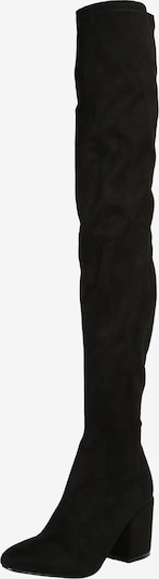 fekete Raid Térd feletti csizmák 'KOLA-4', Termék nézet