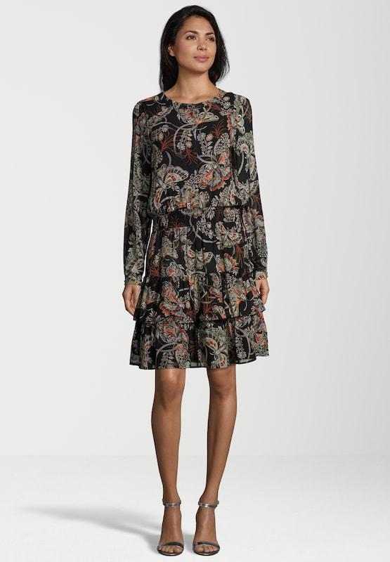 SET Blusenkleid mit Schmetterlingsmuster