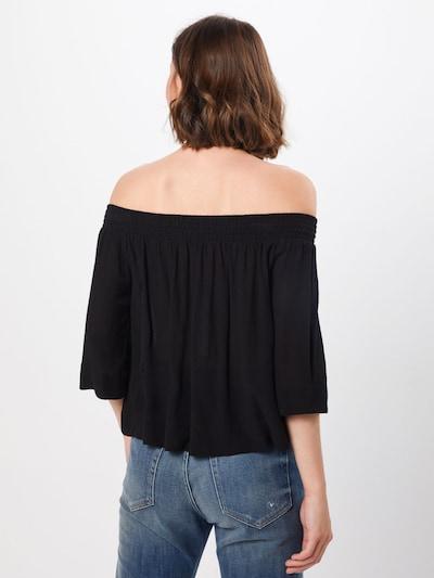 ABOUT YOU T-shirt 'Camille' en noir: Vue de dos