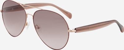 Matthew Williamson Sonnenbrille 'PRIMROSE ' in braun / gold, Produktansicht