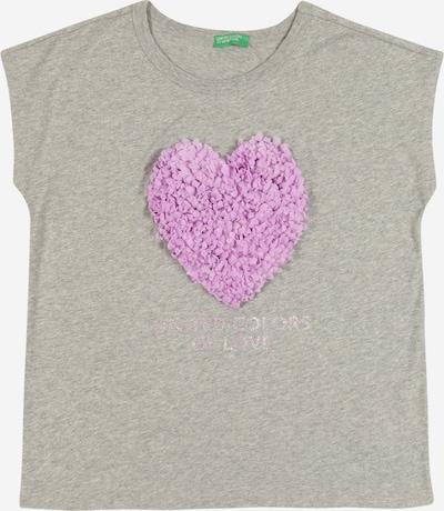 UNITED COLORS OF BENETTON Shirt in graumeliert, Produktansicht