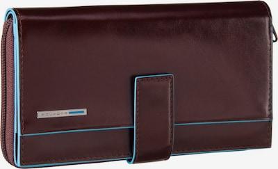 Piquadro Geldbörse 'Blue Square' in türkis / kastanienbraun, Produktansicht