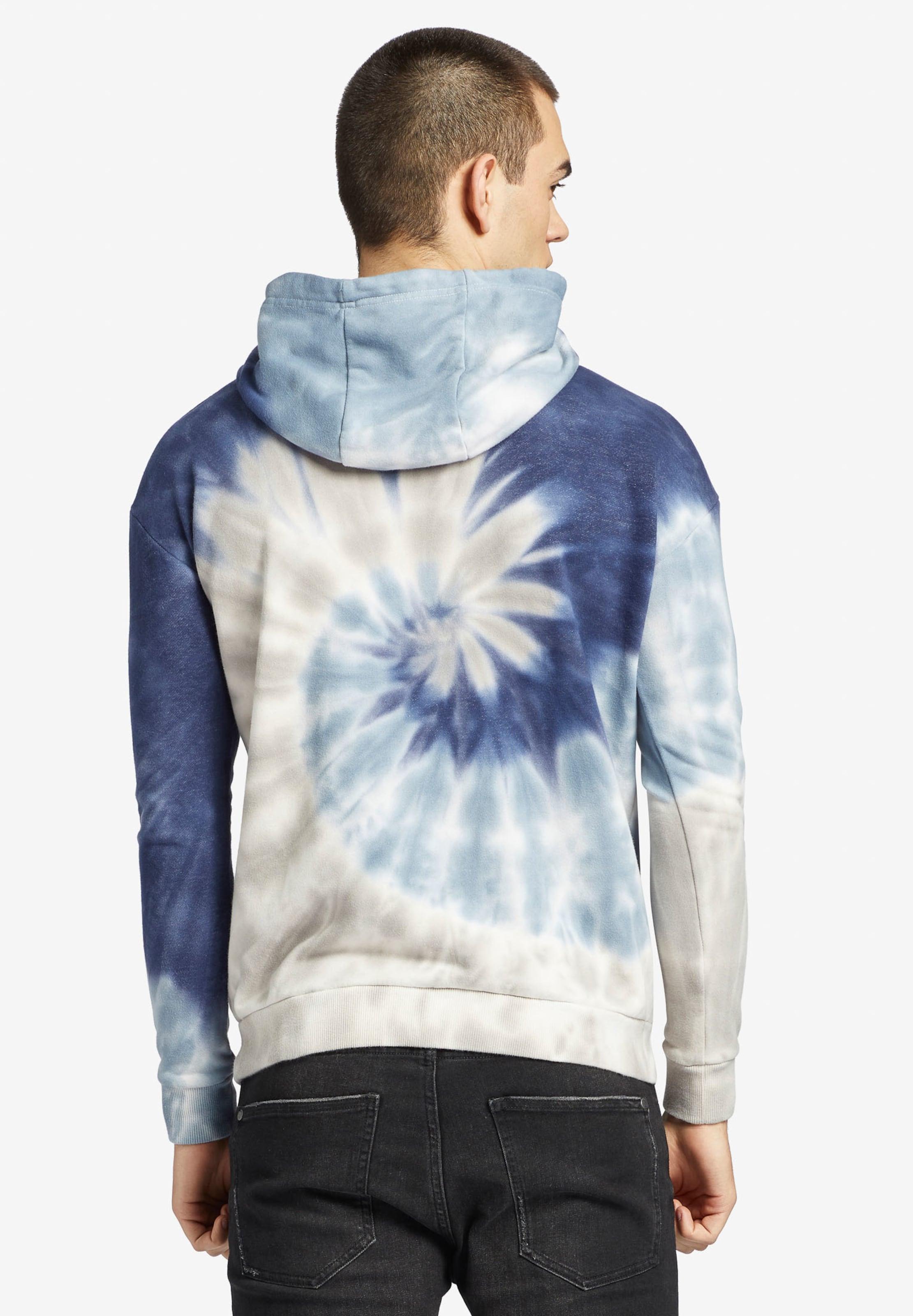 Sweatshirt In Perlweiß Khujo RauchblauRoyalblau Segal ' O80knwP