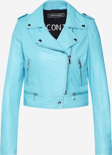 OAKWOOD Prehodna jakna | turkizna barva, Prikaz izdelka