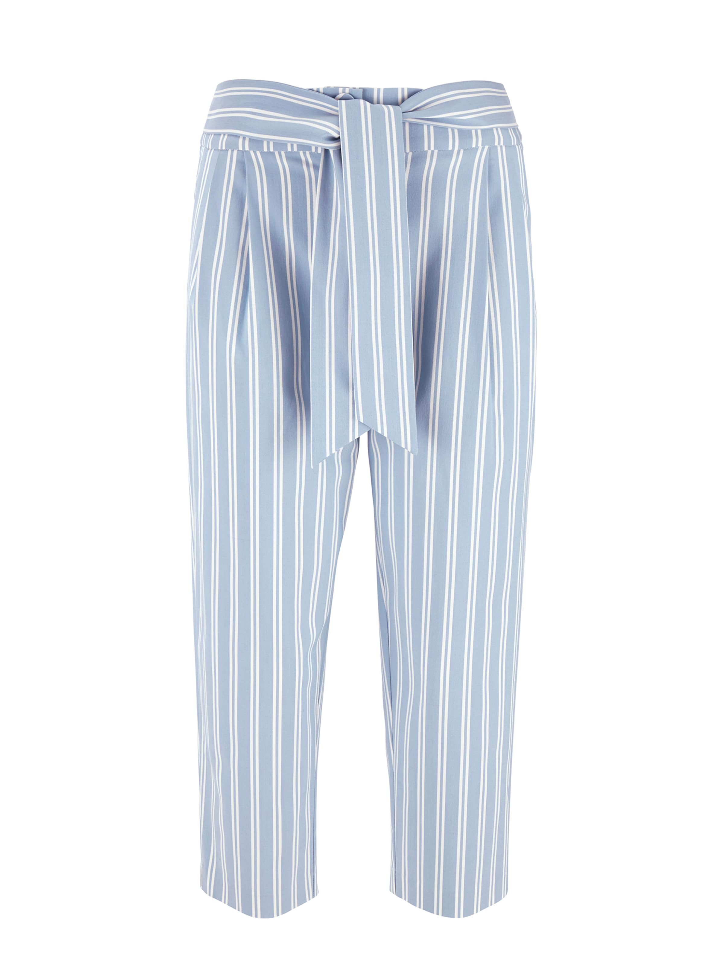 Bleu Heine ClairBlanc À En Pince Pantalon dWroCBex
