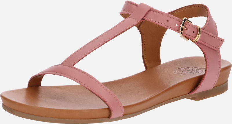 Apple of Eden Sandalen 'Dora' in rosa, Produktansicht