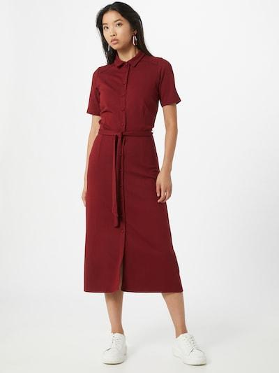 King Louie Košeľové šaty 'Rosie' - burgundská, Model/-ka