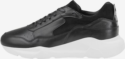 JACK & JONES Leder Sneaker in anthrazit / weiß, Produktansicht