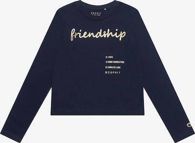 ESPRIT Langarmshirt in blau, Produktansicht