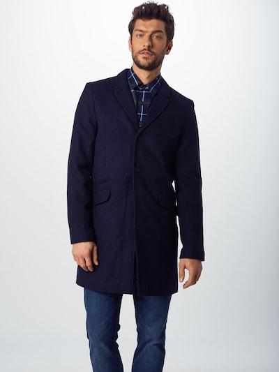 Palton de primăvară-toamnă 'JULIAN SOLID' Only & Sons pe albastru închis: Privire frontală