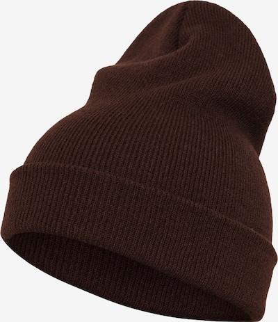 Flexfit Bonnet 'Yupoong' en marron châtaigne, Vue avec produit