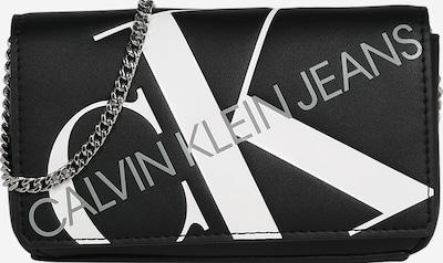 Calvin Klein Pisemska torbica   črna / bela barva, Prikaz izdelka